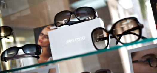 Downey Eyecare Center optometry has a large eyeglass and sunglass collection including Jimmy Choo