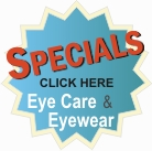special offers and discounts on eye care, eyewear, and contact lenses